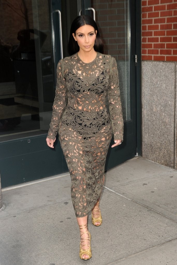 We See London We See France... - Kim Kardashianu0026#39;s Most Outrageous Outfits - Zimbio