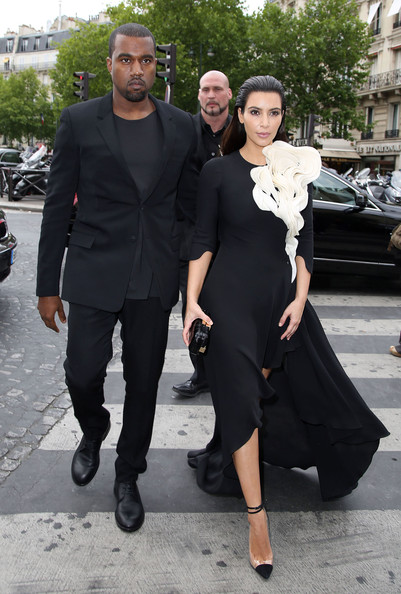 Kim Kardashian - Kim and Kanye in Paris