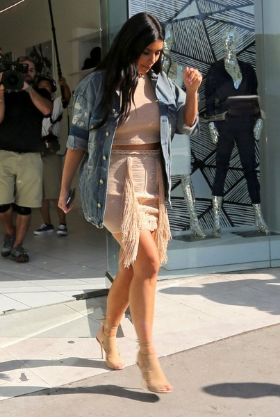 Kim Kardashian Visits DASH in West Hollywood