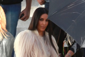 Kim Kardashian Stars On The Set Of 'Ocean's Eight' In Los Angeles