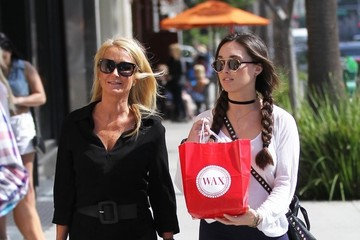 Kim Richards Kim Richards Shops In Beverly Hills With Her Daughter