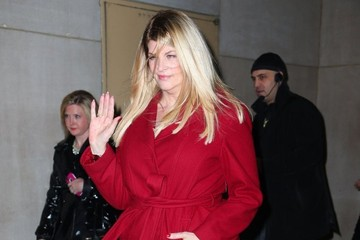 Kirstie Alley Kirstie Alley Leaves the 'Today' Show