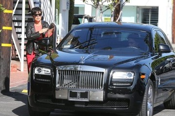 Kris Jenner Bruce Jenner Kris & Bruce Jenner Stop By Fred Segal