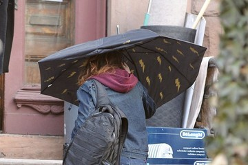 Kristen Stewart Scenes from the 'Still Alice' Set