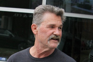 Kurt Russell Kurt Russell Lunches With His Son