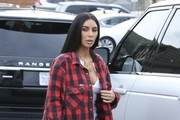 Kim Kardashian and Kanye West Have Lunch In Beverly Hills