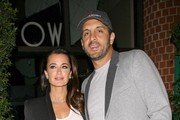 Kyle Richards & Husband Dine Out At Mr. Chow