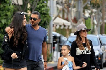 Kyle Richards Kyle Richards and Her Family Enjoy a Day Out in Beverly Hills