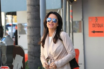 Kyle Richards Kyle Richards Has Lunch At The Palm In Beverly Hills
