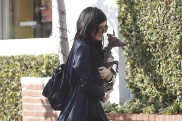 Kylie Jenner Kylie Jenner Shops with Her Dog