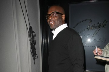L.A. Reid Celebrities Dine Out at Craig's Restaurant