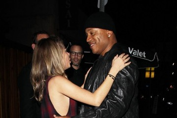 LL Cool J Celebrities Out For Dinner At The Nice Guy Restaurant