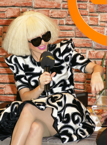 Lady GaGa At Monster's Beats Press Conference In Berlin
