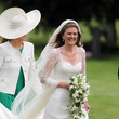 Lady Laura Marsham Members of The Royal Family Attend Wedding in Norfolk