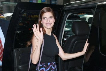 Lake Bell Celebrities Visit the 'Today' Show