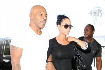 Lakiha Spicer Mike Tyson Leaves LA