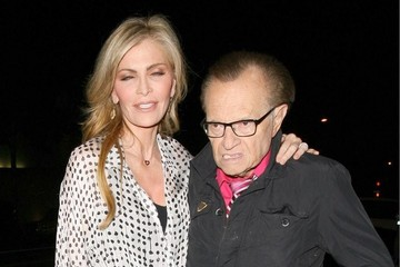 Larry King Celebs Dine Out at Craigs