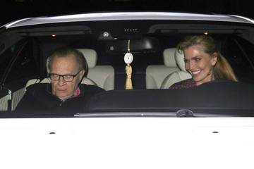 Larry King Celebrities Dine Out at Palm Restaurant