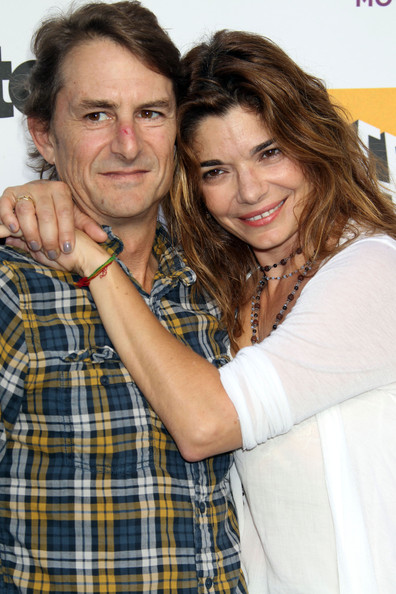 Laura San Giacomo with Husband Matt Adler