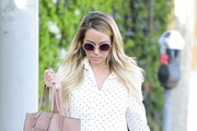 Lauren Conrad Visits Kate Somerville