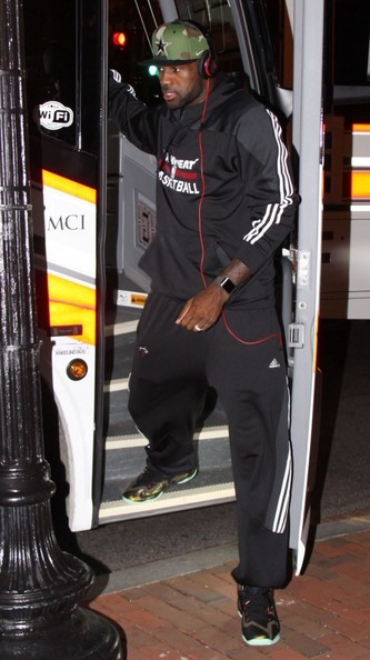 LeBron James - LeBron James Out and About in Washington DC