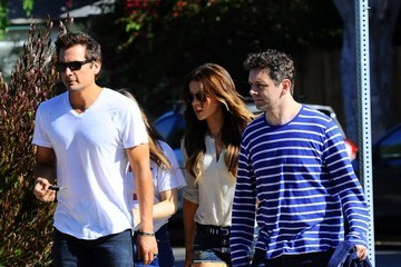 Len Wiseman Kate Beckinsale and Family Celebrate Father's Day