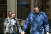 Lena Dunham and Adam Driver Film 'Girls'