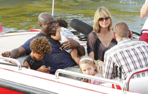 heidi klum and seal kids. Leni Samuel Heidi Klum, Seal