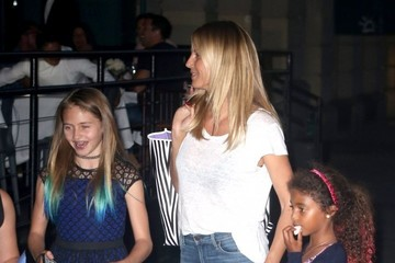 Leni Samuel Heidi Klum Is Seen in NYC With Her Kids