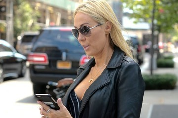 Leticia Cyrus Tish Cyrus Out and About in New York