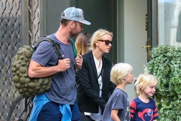 Liev Schreiber Naomi Watts Out with Her Family