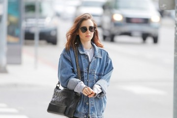Lily Collins Lily Collins Goes Out in Beverly Hills
