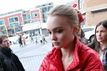 Lily-Rose Depp Celebrities Out And About At The Sundance Film Festival