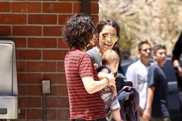 Linda Perry Rhodes Perry Sara Gilbert and Linda Perry Celebrate Daughter Sawyer's 8th Birthday