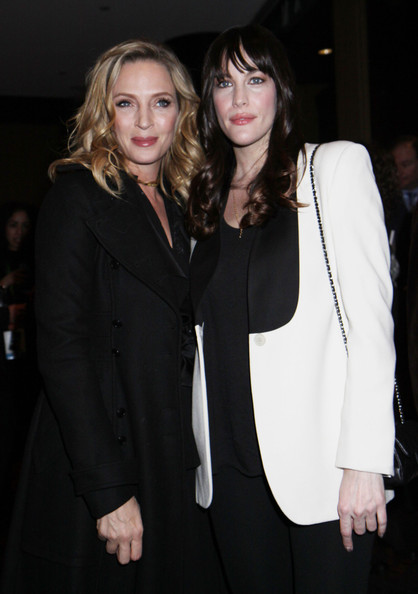 liv tyler photos photos - bebe buell brings her younger husband a