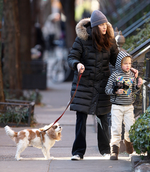 Son Milo Liv Tyler And Son Milo Out