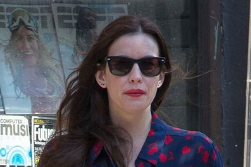 Liv Tyler Liv Tyler & Her Son Out & About