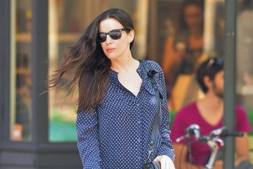 Liv Tyler Liv Tyler Spotted Out in NYC