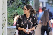 Louise Roe is spotted out and about in Los Angeles, California on January 25, 2017.