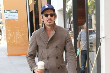 Lukas Haas Celebrities Step Out In Beverly Hills