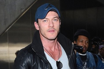 Luke Evans Luke Evans Touches Down At LAX