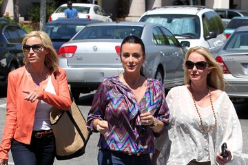 Camille Grammer Kyle Richards The Real Housewives Do Lunch