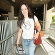 Madeleine Stowe Madeleine Stowe Arrives on a Flight at LAX