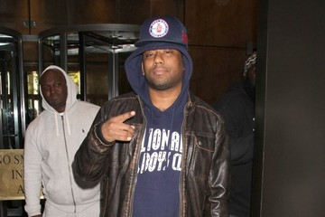 Maino Celebs Stop by the Sirius Radio Studios