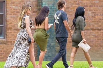 Malika Haqq The Kardashian Clan Out in Watermill
