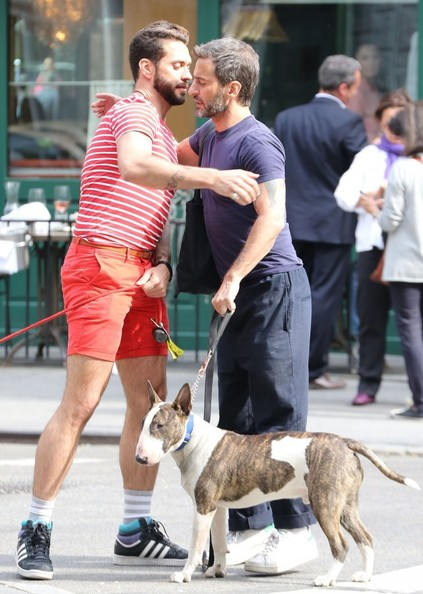 Marc Jacobs Has Lunch With Lorenzo Martone