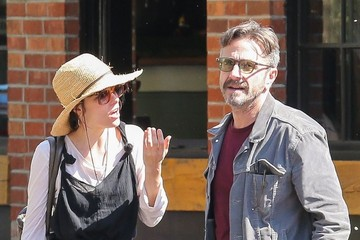 Marc Maron Parker Posey Walks Her Dog