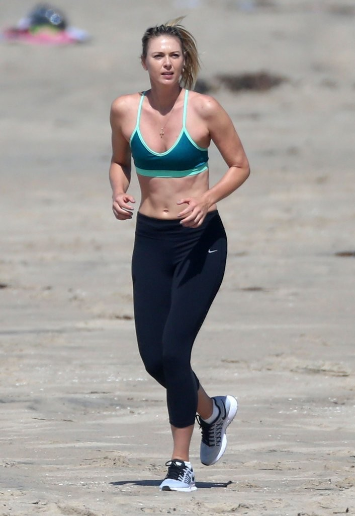 Maria Sharapova Photos Photos Maria Sharapova Continues Working Out Despite Failed Drug Test