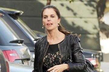 Maria Shriver Maria Shriver Lunches with Ron Howard and Brian Grazer