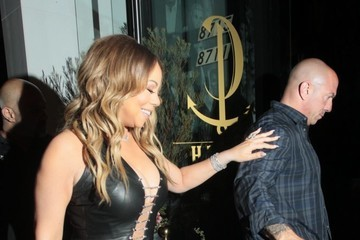 Mariah Carey Mariah Carey Stuns as She Arrives at Catch Restaurant in West Hollywood